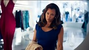 Vanessa Williams enhanced her baby blues on '666 Park Avenue' with a cobalt sheath dress.