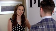 Leighton Meester was a spotted darling on 'Gossip Girl' in this retro top.