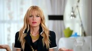Rachel Zoe added some flare to her look with these layered gold necklaces.