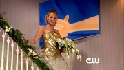Blake Lively was a blushing bride on 'Gossip Girl' in this gilded ballgown.