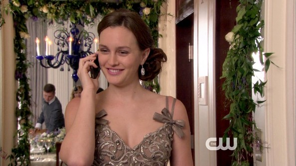 More Pics of Leighton Meester Cocktail Dress (1 of 24) - Leighton Meester Lookbook - StyleBistro