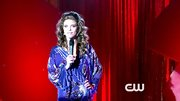 AnnaLynne McCord got ready to bare all on '90210' in a sexy silk robe.
